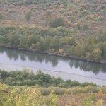 the Eerguna river that splinters into the wetlands