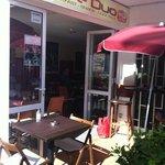 café Duo opposite hotel Neptuno