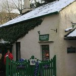 Sarah Nelson's classical Grasmere Gingerbread shop a stone throw away...