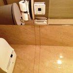 Separate Bathroom Area