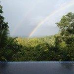 rainbow one morning