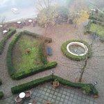 veduta sul giardino dell'hotel