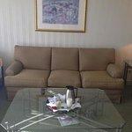 separate living room in junior suite