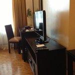 TV dresser area