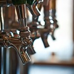 We have 9 unique beers on tap all the time.