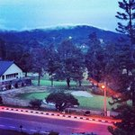 Balcony View Past Sunset - Cameron Highlands Resort