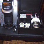 loved the keurig for early am coffee