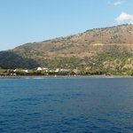 View of Sougia from the coastal ferry