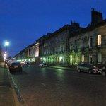 Royal Terrace at night