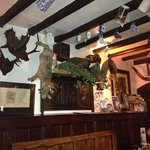 Interior decor of the old pub, wonderfully interesting!