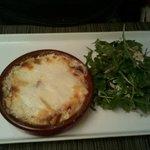 Cassolette de tomme ariègeoise (cazuela de queso)