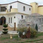 View with Byzantine Hamam