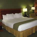 King Bed -- Holiday Inn Express, Conover, NC