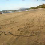 Tamarindo Beach, beach art