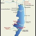 карта озера