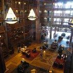 Lobby, usual decor