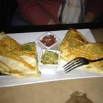 Chicken  quesadilla  YUM !