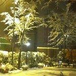 il villino di Erika con neve