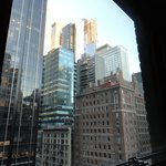 9th floor view from room facing 6th Avenue