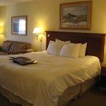 King Bed -- Hampton Inn & Suites, Corolla, NC