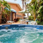 Palms spa and private garden