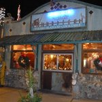 Schooners Restaurant at Christmas time
