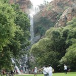 Waterfall, good place to have the picnic