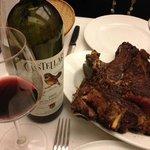 fiorentina e Chianti classico riserva...la coppia perfetta