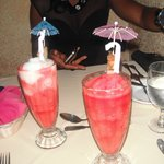 our drinks