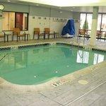 Tiny pool!