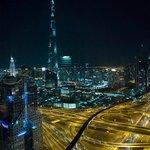 'Burj Khalifa'-view from the Horizon Club