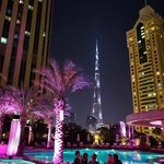 'Burj Khalifa'-view from iKandy/pool area