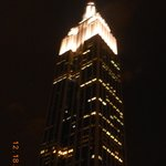 Empire State Building taking from the rooftop of Hotel