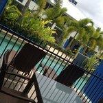 Swim-out balcony of Main bedroom.