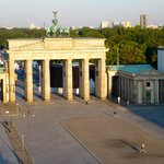 View of Brandenburg Gate from Hotel