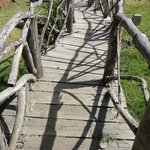 the bridge before the entrance