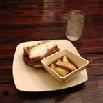 French Toast with Apple Sorghum Syrup