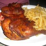 Spicy Peri-Peri chicken-huge serving!!