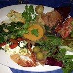 Sharing platter for two: a taste sensation!