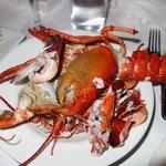 $50 lobster post dinner!