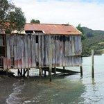 Old boathouse Totara North
