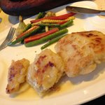 Fish in lemon butter sauce