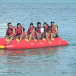 water sports at hotel beach