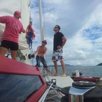 Hands on sailing