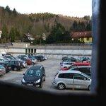 Hotelparkplatz - der Rest des Parkhauses