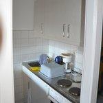 Küche - Comfort Apartment Typ B