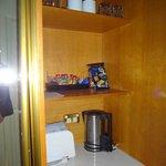 supplies / fridge etc