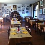 Sala da pranzo del ristorante