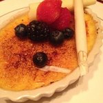 Strip House's White Chocolate Creme Brûlée. Definitely one of the best Creme brûlées I've ever