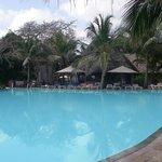 Pool area, Kole Kole, Baobab Hotel